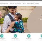 Kol Kol offers ergonomic baby carrier bags