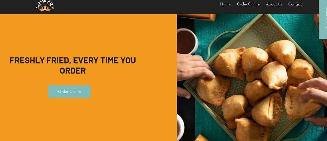 Samosa Party offers branded quality samosas