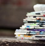 Engineer's innovation for making strong newspaper bags