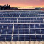Farmer innovates trolley solar panels
